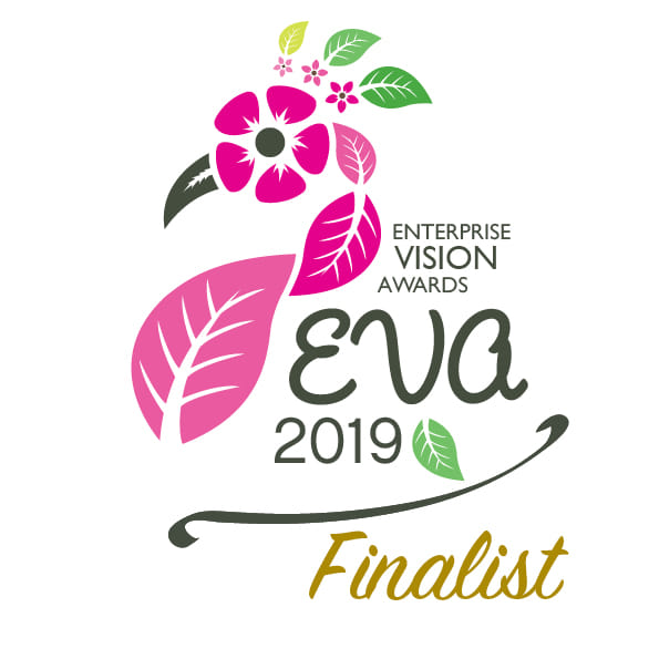 EVAS 2019 FINALIST FOR FINANCIAL SERVICE BUSINESS OF THE YEAR